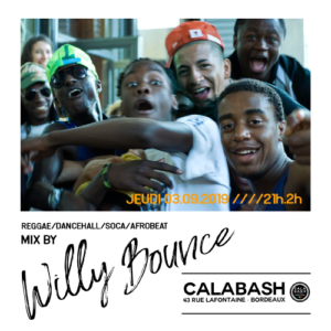 Willy Bounce au Calabash